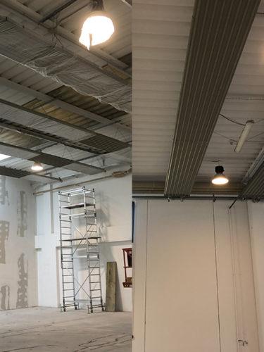 Tinteggature capannone industriale